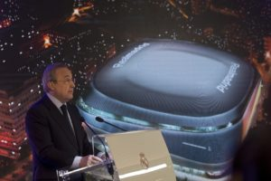 The new Santiago Bernabeu will be the 'best stadium in the world' and help Real Madrid and the city, says club president Florentino Perez.