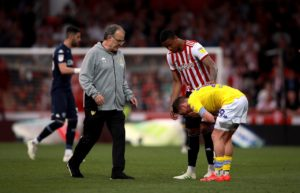 Leeds boss Marcelo Bielsa admitted his side's automatic promotion chances are looking gloomy after their 2-0 Sky Bet Championship defeat at Brentford.