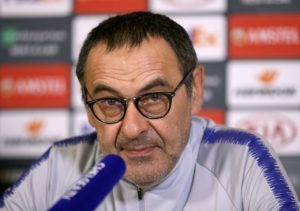 Maurizio Sarri admitted Chelsea made life difficult for themselves after they reached the semi-finals of the Europa League