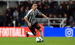 Miguel Almiron still hopes to play in the Copa America after being ruled out for the rest of the Premier League season.