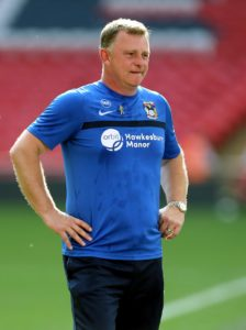 Coventry boss Mark Robins admitted his side struggled to cope with Shrewsbury's game plan in their 1-1 League One draw.