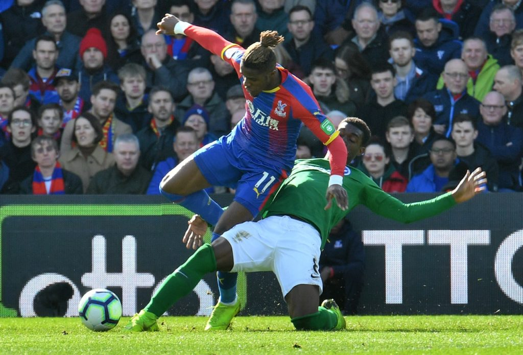 Crystal Palace chairman Steve Parish says the club have to 'match the ambitions' of Wilfried Zaha and other top players to keep them.