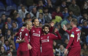 Liverpool will face Barcelona in the semi-finals of the Champions League after beating Porto.