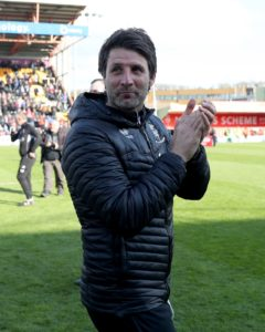 A delighted Danny Cowley saw his Lincoln side earn a second promotion in three years despite being held to a 1-1 draw by Cheltenham at Sincil Bank.