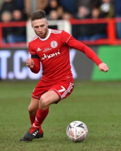 Winger Jordan Clark will sit out Accrington's Sky Bet League One clash with high-flying Sunderland on Wednesday evening.