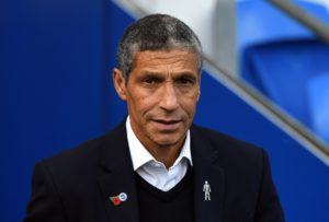 Chris Hughton insists it is business as usual at Brighton despite the club's precarious Premier League position.