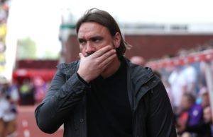 Norwich boss Daniel Farke says his players must continue to believe in themselves following their 2-2 draw at Stoke.