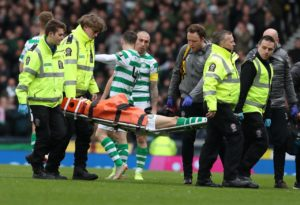 Celtic have confirmed that midfielder Ryan Christie is set for a spell on the sidelines after suffering several facial fractures.