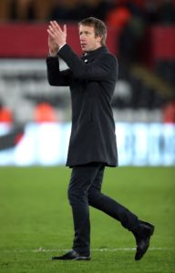 Swansea boss Graham Potter hailed the performance of striker Daniel James as his team ended a barren run of away form with a 1-0 win against Ipswich.