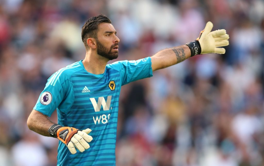 Wolves goalkeeper Rui Patricio has claimed he is still learning and has enjoyed his development in the Premier League so far.