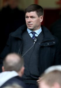Rangers boss Steven Gerrard says it is about time the penny dropped with supporters after Scottish football suffered its latest missile-throwing shame.