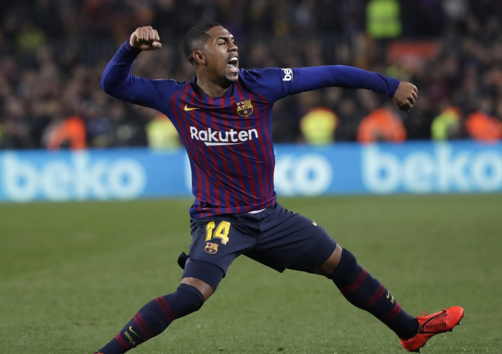 Malcom's agent has denied the Brazilian forward is set to swap Barcelona for AC Milan in the summer transfer window.