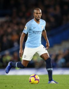 Manchester City midfielder Fernandinho is hoping to earn a starting role when they host Tottenham on Saturday.
