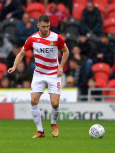 Doncaster will check on midfielder Ben Whiteman ahead of the visit of Accrington.