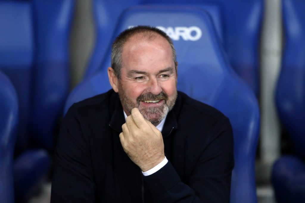 Kilmarnock boss Steve Clarke admits he'd be open to managing Scotland 'at some stage' but has not had any contact from the SFA yet.
