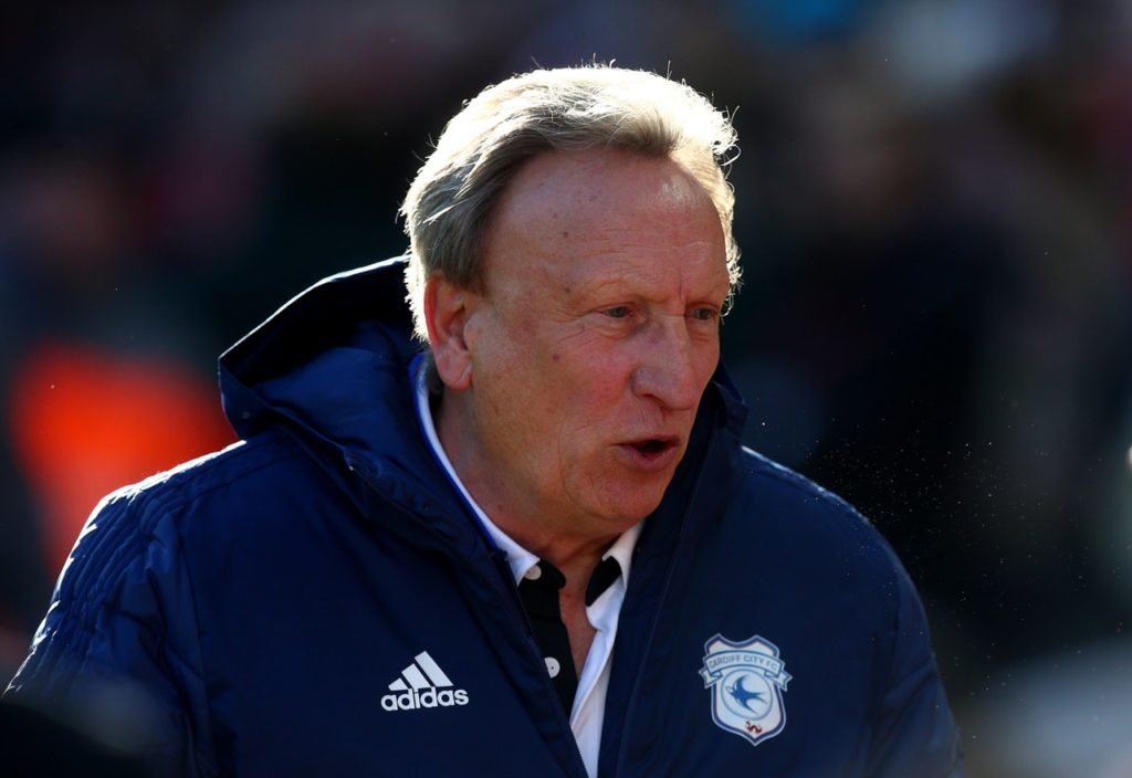 Cardiff boss Neil Warnock admits his side have reached the point of no return as they prepare to face Brighton tonight.