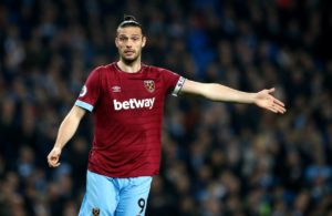 West Ham striker Andy Carroll will miss the rest of the season, while there are also doubts over the fitness of Samir Nasri.