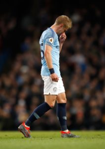 Manchester City are waiting to learn if Oleksandr Zinchenko can be fit for Saturday's FA Cup semi-final with Brighton at Wembley.