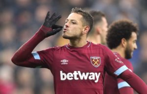 West Ham frontman Javier Hernandez is hoping to get the nod to start against his former club Manchester United on Saturday.