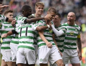 Champions-elect Celtic took another step closer to the title as they beat Kilmarnock 1-0 on Saturday.