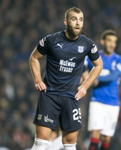 Dundee defender James Horsfield claims their biggest motivation to get off the bottom of the Ladbrokes Premiership on Wednesday is to repay their fans.