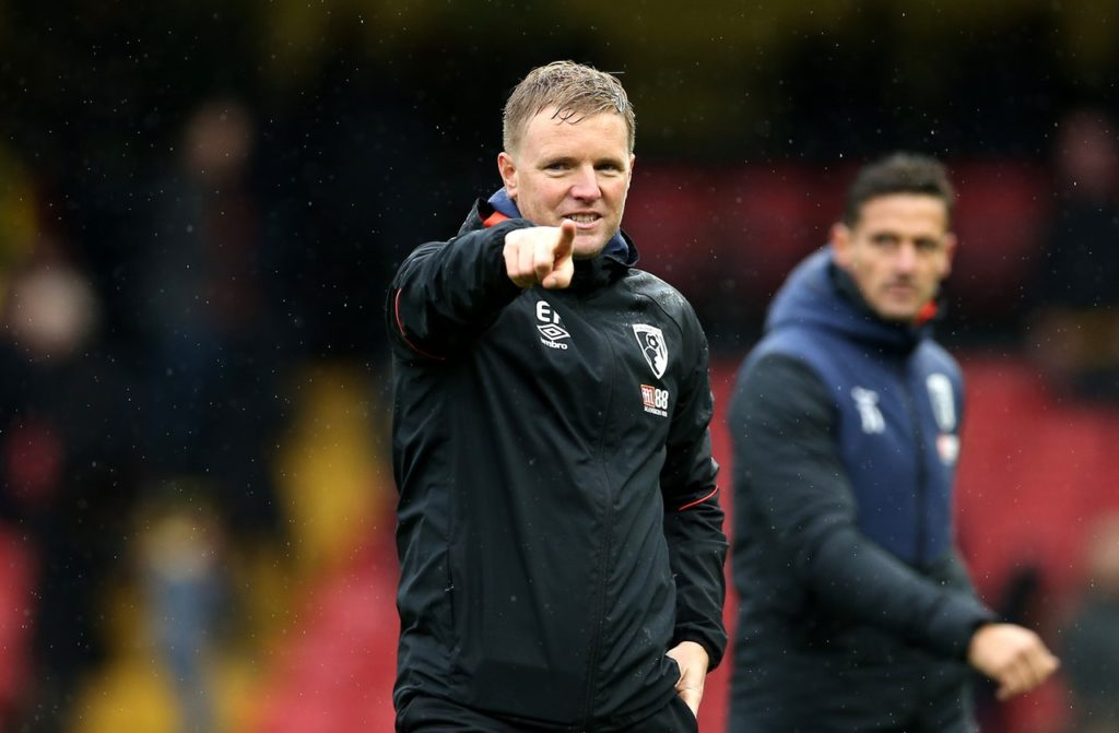 Bournemouth boss Eddie Howe's defensive options look limited as he prepares for Saturday's Premier League trip to Brighton.