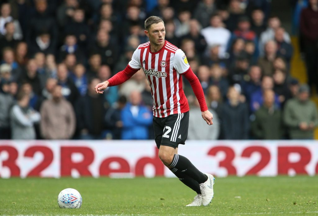 Brentford will be without defender Henrik Dalsgaard through suspension for the visit of promotion-chasing Leeds.