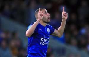 According to reports in Greece, Leicester City striker Islam Slimani is wanted by Olympiakos this summer.