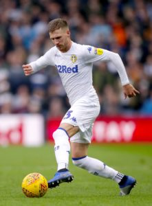 Leeds defender Barry Douglas has been ruled out for the rest of the season with knee ligament damage.