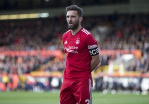 Aberdeen boss Derek McInnes says there is 'a chance' of retaining Derby target Graeme Shinnie but admits it is 'extremely unlikely'.