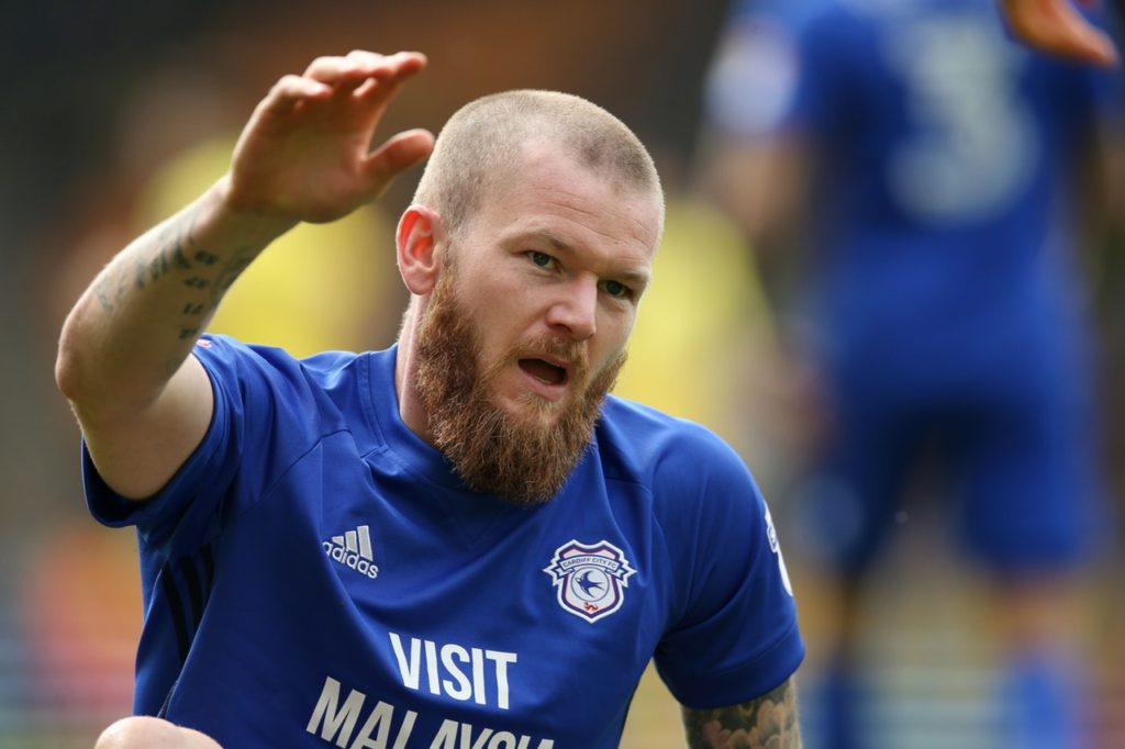 Aron Gunnarsson says Cardiff will fight until the end but was left fuming after being denied a clear penalty at the weekend.