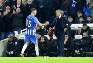 Brighton duo Pascal Gross and Solly March could feature in Tuesday's home clash with Cardiff after recovering from injury.