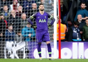 Tottenham goalkeeper Hugo Lloris accepted responsibility for his part in Liverpool's late winner and hopes to bounce back against Crystal Palace.