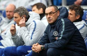 Chelsea boss Maurizio Sarri is being linked with a return to Italy as AS Roma are reported to be weighing up a summer swoop.