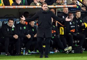 Norwich manager Daniel Farke could not contain his fury with referee Geoff Eltringham after a dramatic 2-2 draw with Sheffield Wednesday at Carrow Road.