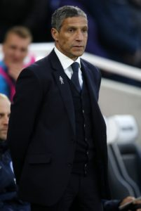 Brighton boss Chris Hughton has demanded more resilience from his men as they look to avoid relegation.