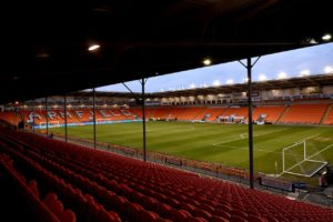 Blackpool have pledged to adopt a 'zero-tolerance' approach towards supporters who ran onto the pitch during their victory over Fleetwood on Saturday.
