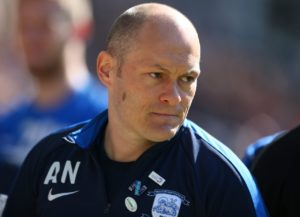 Preston manager Alex Neil blamed the speculation over his future for his side's 4-1 defeat against West Brom, the club who want him.