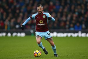 Sean Dyche says Steven Defour is 'making very good progress' after calf surgery but will not be fit until next season at the earliest.