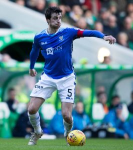 Tommy Wright admitted that captain Joe Shaughnessy might have played his last game for St Johnstone after he was dropped for the 1-1 draw at St Mirren.