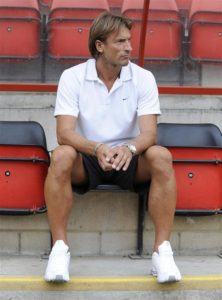 Herve Renard has dismissed talk linking him with Lyon and says he is fully focussed on his job with the Moroccan national side.