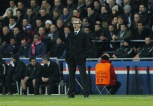 Lyon have denied approaching Laurent Blanc but the former PSG boss is still being linked with the Chelsea hot seat.