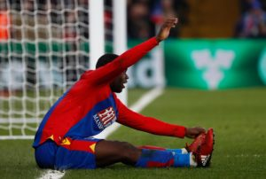 Roy Hodgson says Jeffrey Schlupp is out for the rest of the season ahead of their trip to Arsenal on Sunday.