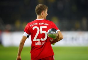 Bayern Munich striker Thomas Muller says the club have a 'huge desire' to achieve a domestic double this season.
