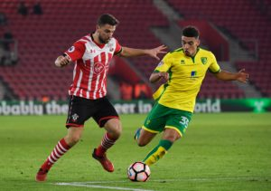Lyon are believed to be competing with some big names in the Premier League for the services of Norwich City defender Ben Godfrey.