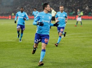 Marseille midfielder Florian Thauvin made his frustrations clear after their 2-0 loss to Bordeaux on Friday.