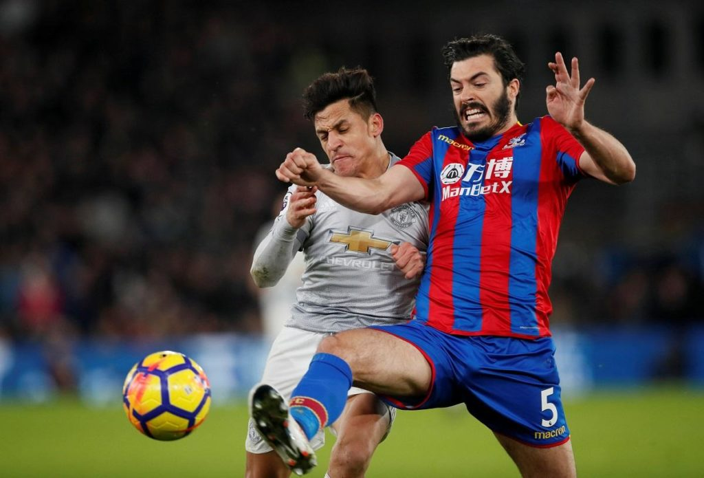 Crystal Palace's defensive options have been further stretched ahead of the visit of Manchester City after an injury to James Tomkins.