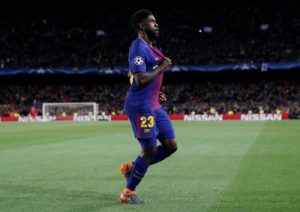 Barcelona defender Samuel Umtiti is on the wanted list of Arsenal, Manchester United and AS Roma, reports have claimed.
