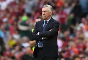 Carlo Ancelotti has backed his Napoli side to overturn a two-goal deficit and dump Arsenal out of the Europa League.