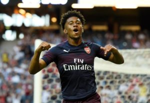 Reiss Nelson says he'll return from his season on loan at Hoffenheim with the aim of breaking into the Arsenal team next season.